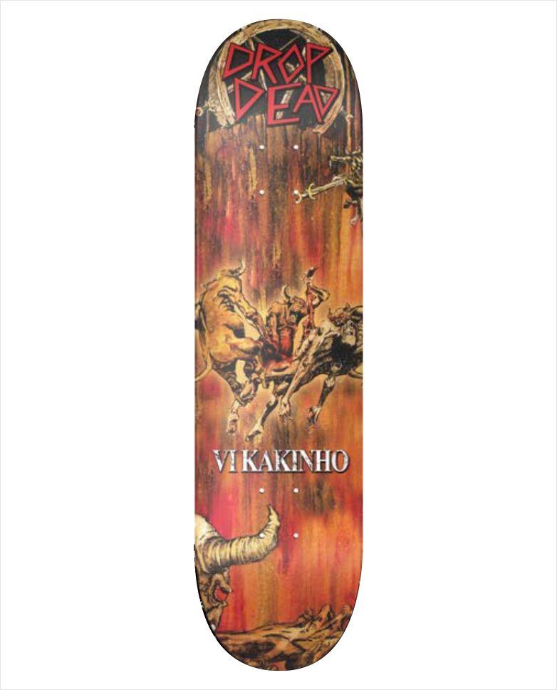 """Shape Dropdead - NK2 Heat Transfer Vi Kakinho 8.3""""  - No Comply Skate Shop"""