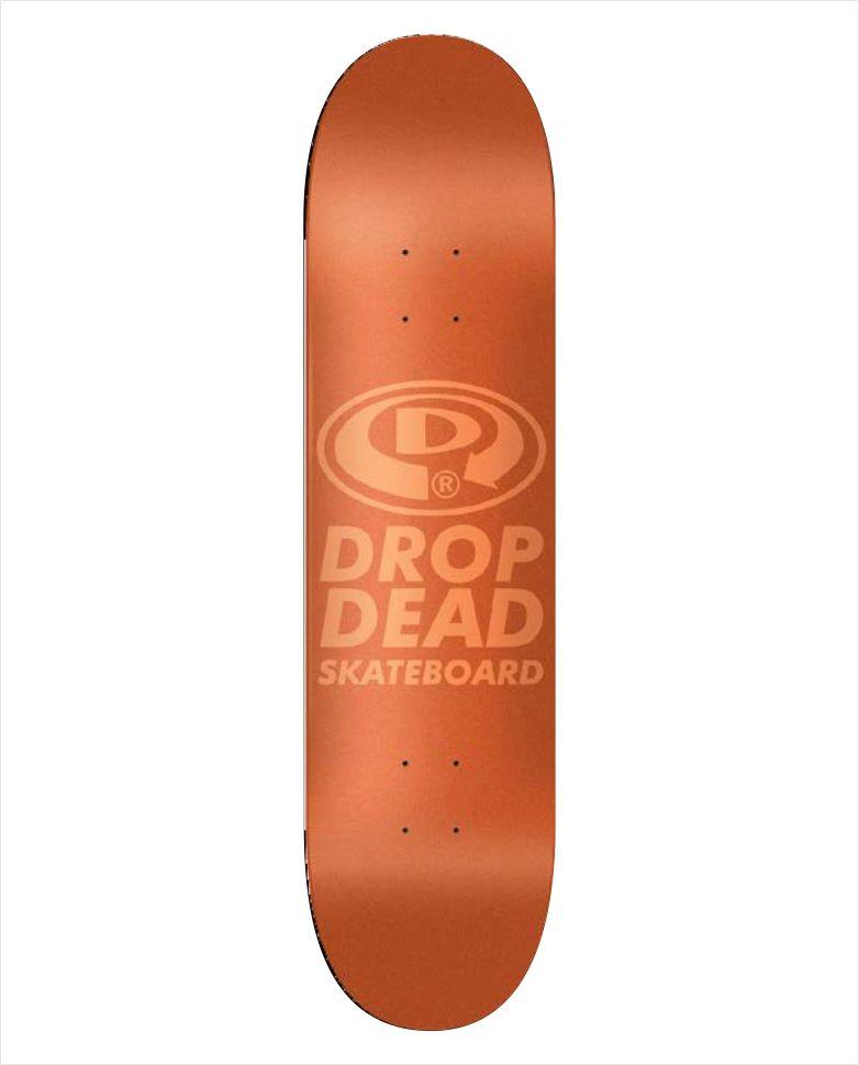 "Shape Dropdead - NK3 Premium Knockout Futura Orange 7.75""  - No Comply Skate Shop"