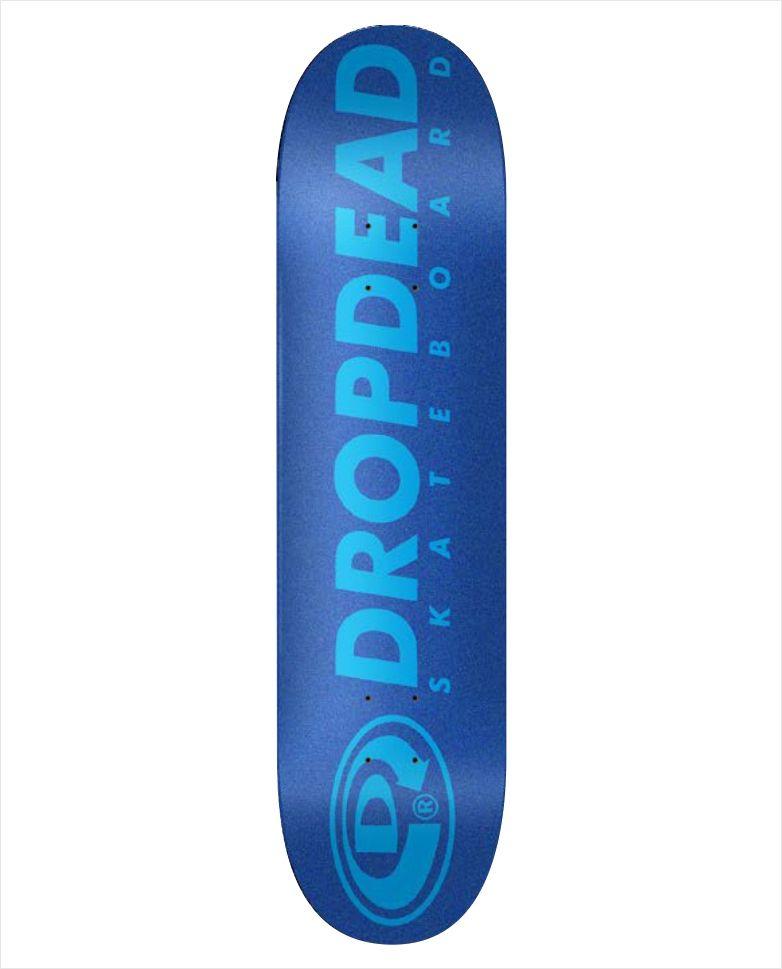 """Shape Dropdead - NK3 Premium Knockout Wide Blue 8""""  - No Comply Skate Shop"""