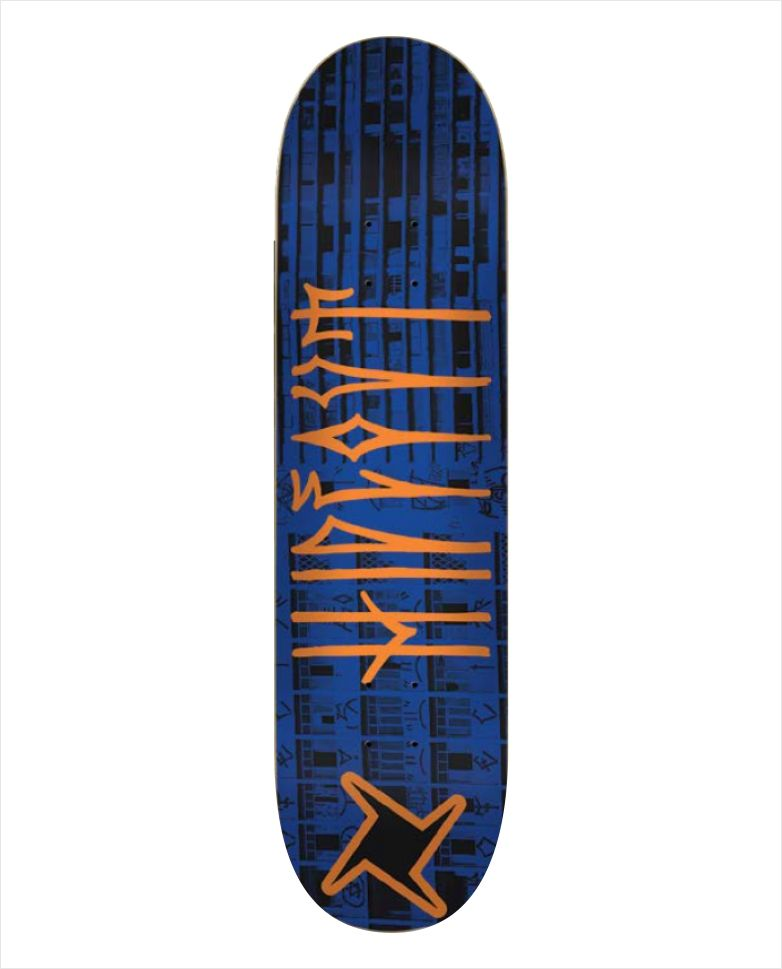 "Shape Hideout - Heat Transfer Treme Treme Azul 8""  - No Comply Skate Shop"