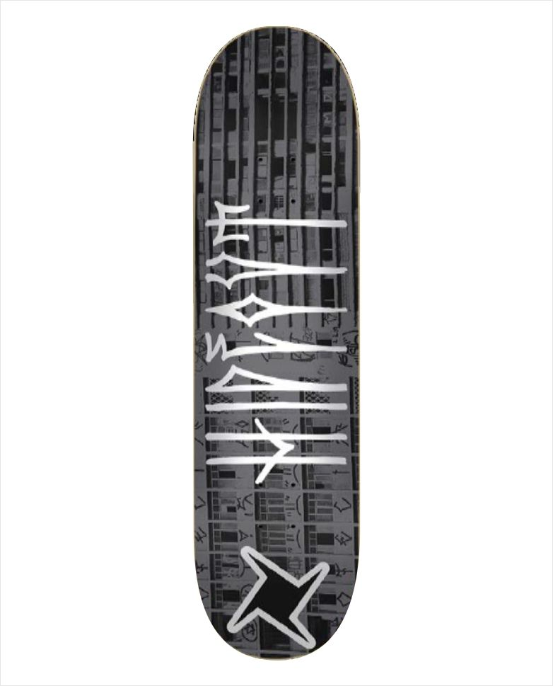"Shape Hideout - Heat Transfer Treme Treme Cinza 7.9""  - No Comply Skate Shop"