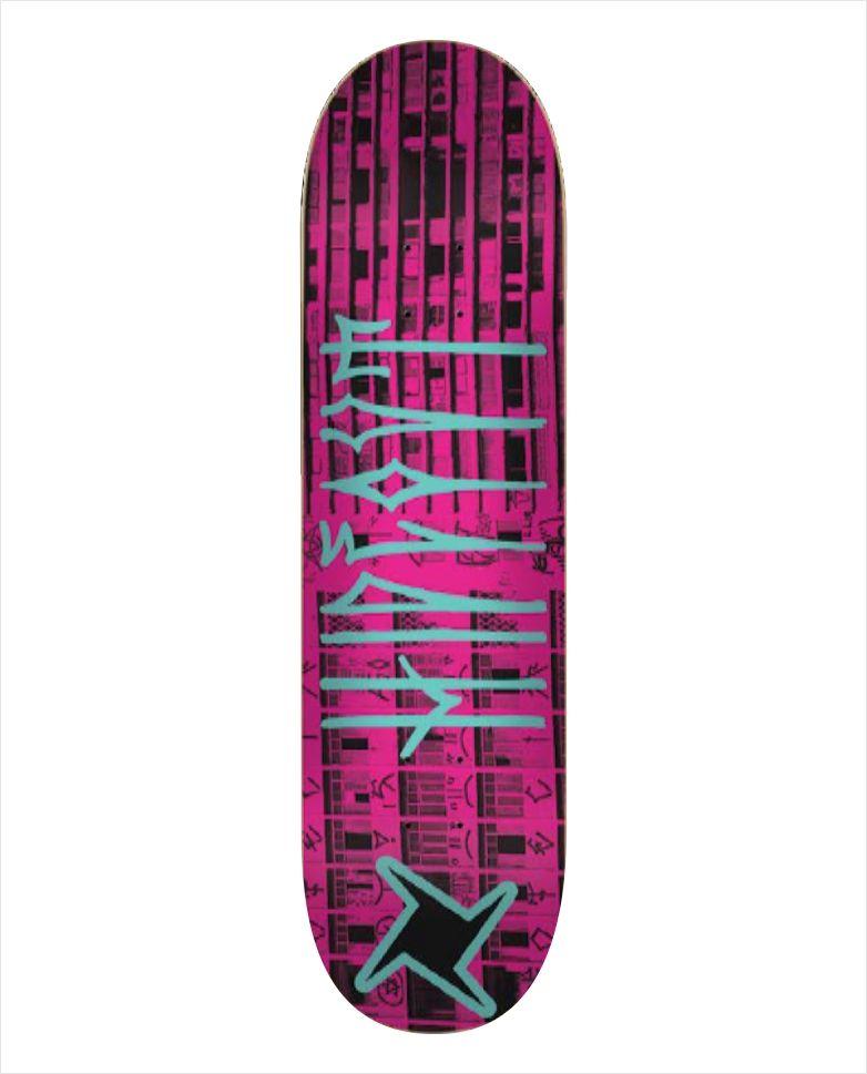 "Shape Hideout - Heat Transfer Treme Treme Rosa 7.75""  - No Comply Skate Shop"