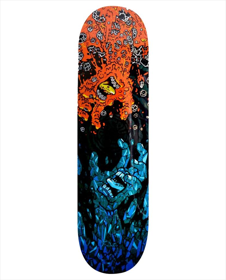 "Shape Santa Cruz - Power Lyte Fire Ice 7.9""  - No Comply Skate Shop"