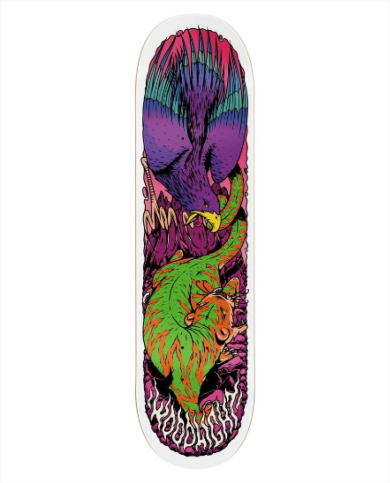 Shape Wood Light - Fiber Glass Eagle X Tiger  - No Comply Skate Shop