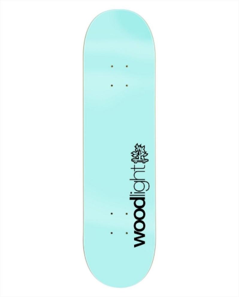 "Shape Wood Light - Fiber Glass Basic Light Blue 8.25""  - No Comply Skate Shop"