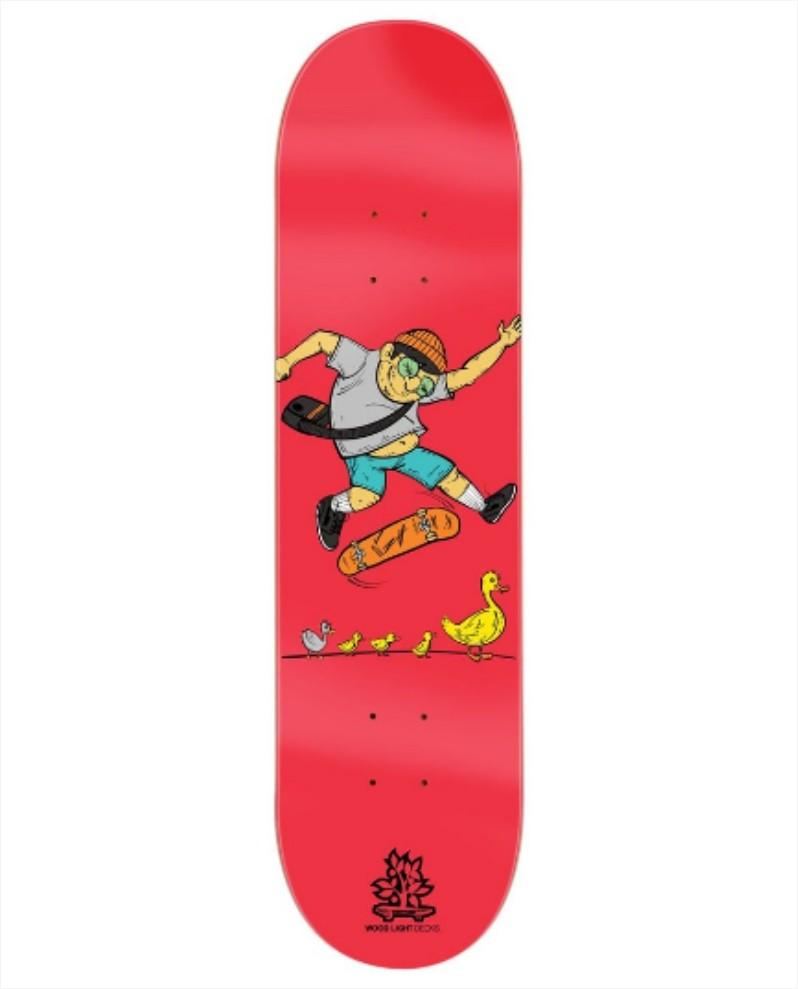 """Shape Wood Light - Fiber Glass Duck Family 7.75""""  - No Comply Skate Shop"""