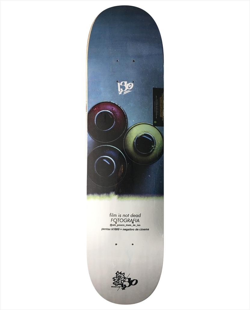 "Shape Wood Light - Fiber Glass Fotografia III 8.0""  - No Comply Skate Shop"