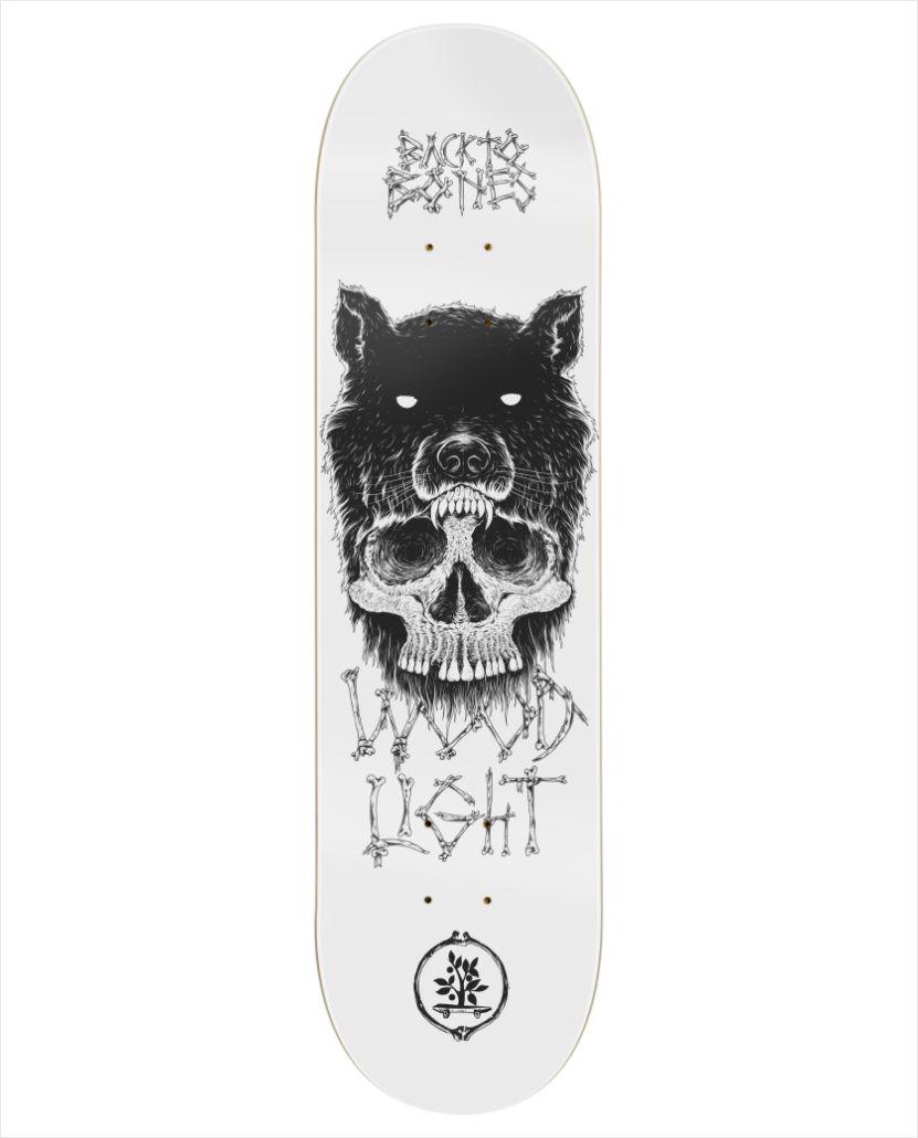 "Shape Wood Light - Fiber Glass Freak Back to Bones I 8.5""  - No Comply Skate Shop"