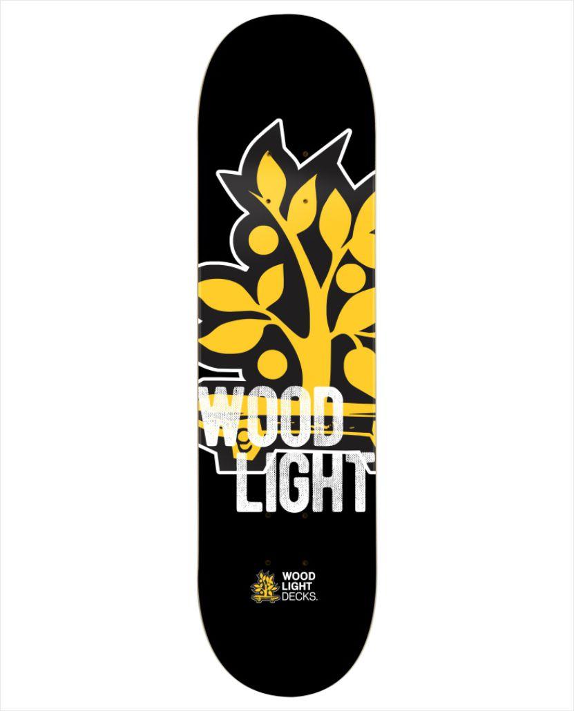 "Shape Wood Light - Fiber Glass Graphic III 8,5""  - No Comply Skate Shop"