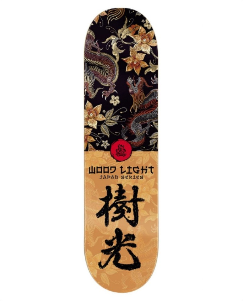 "Shape Wood Light - Fiber Glass Japan Series Eastern 8.0""  - No Comply Skate Shop"