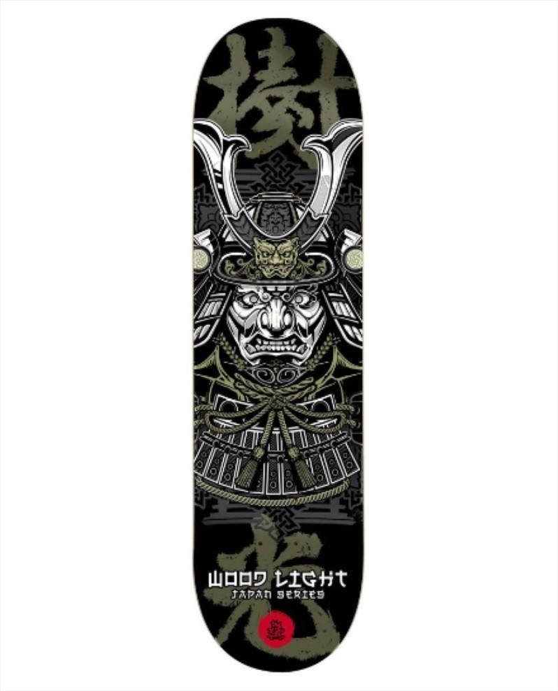 "Shape Wood Light - Fiber Glass Japan Series Samurai 8.25""  - No Comply Skate Shop"
