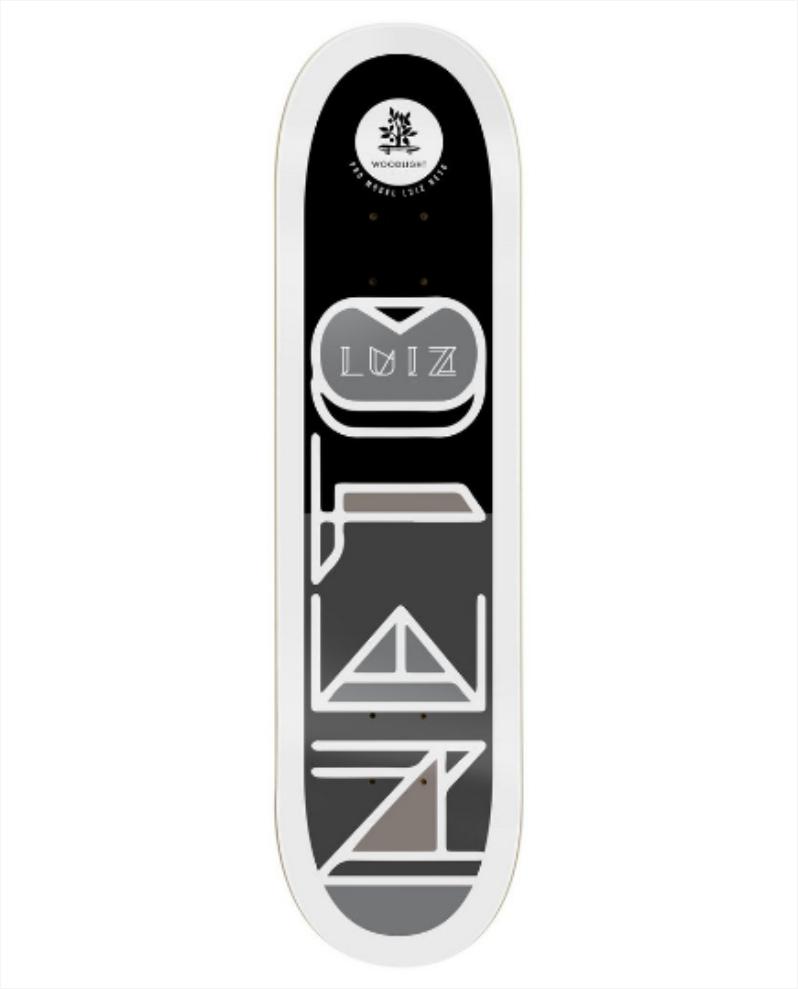 Shape Wood Light - Fiber Glass Luiz Neto Signature I  - No Comply Skate Shop