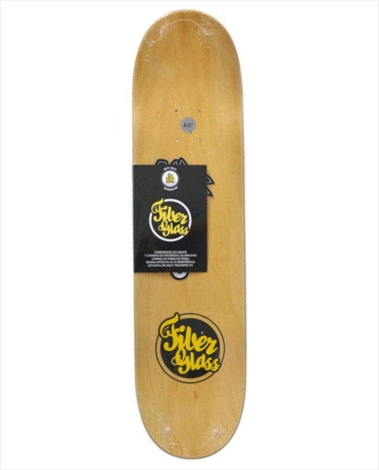 "Shape Wood Light - Fiber Glass Tribal 8.0""  - No Comply Skate Shop"
