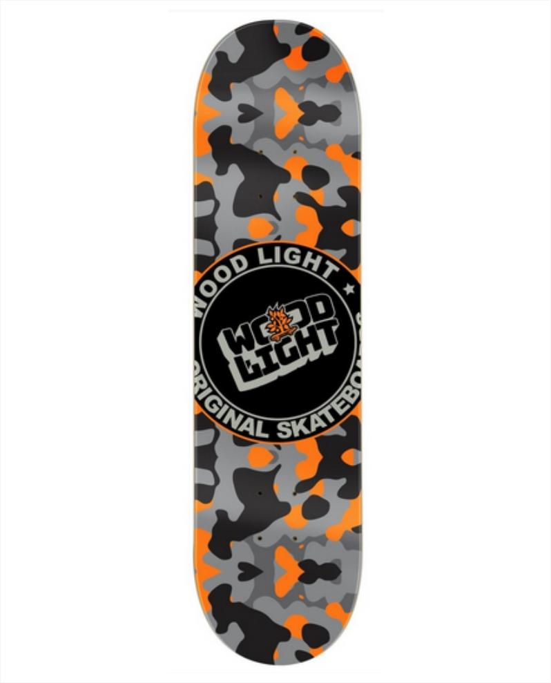 "Shape Wood Light - Maple Army 8.0""  - No Comply Skate Shop"