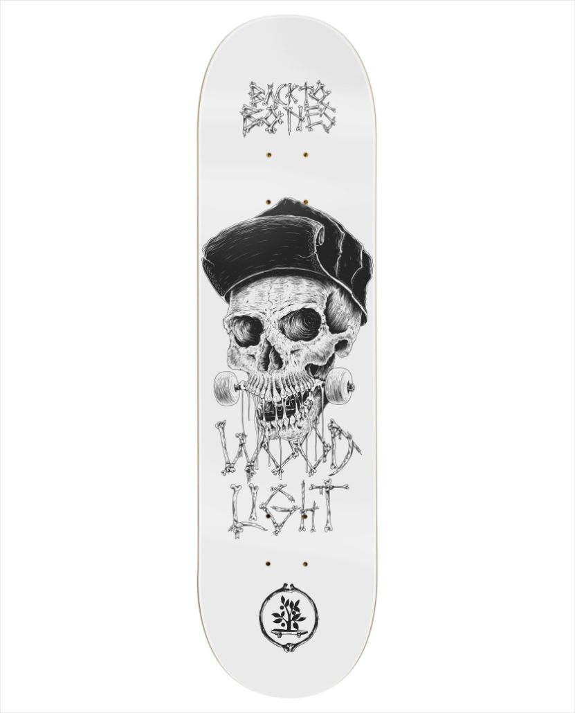 "Shape Wood Light - Maple Back to Bones IV 7.75""  - No Comply Skate Shop"