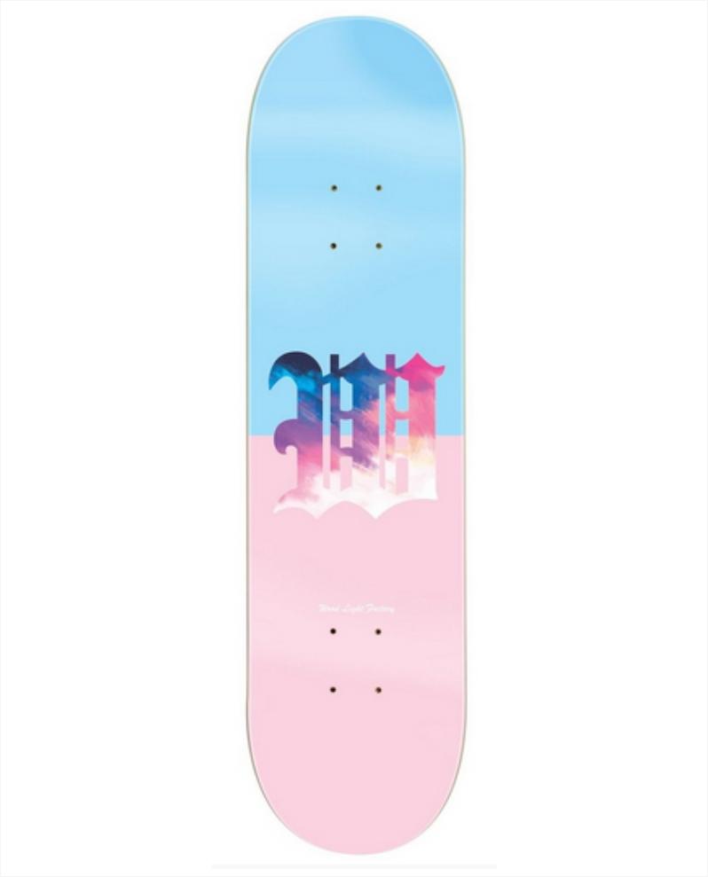 """Shape Wood Light - Maple Dáblio Azul/Rosa 8.0""""  - No Comply Skate Shop"""