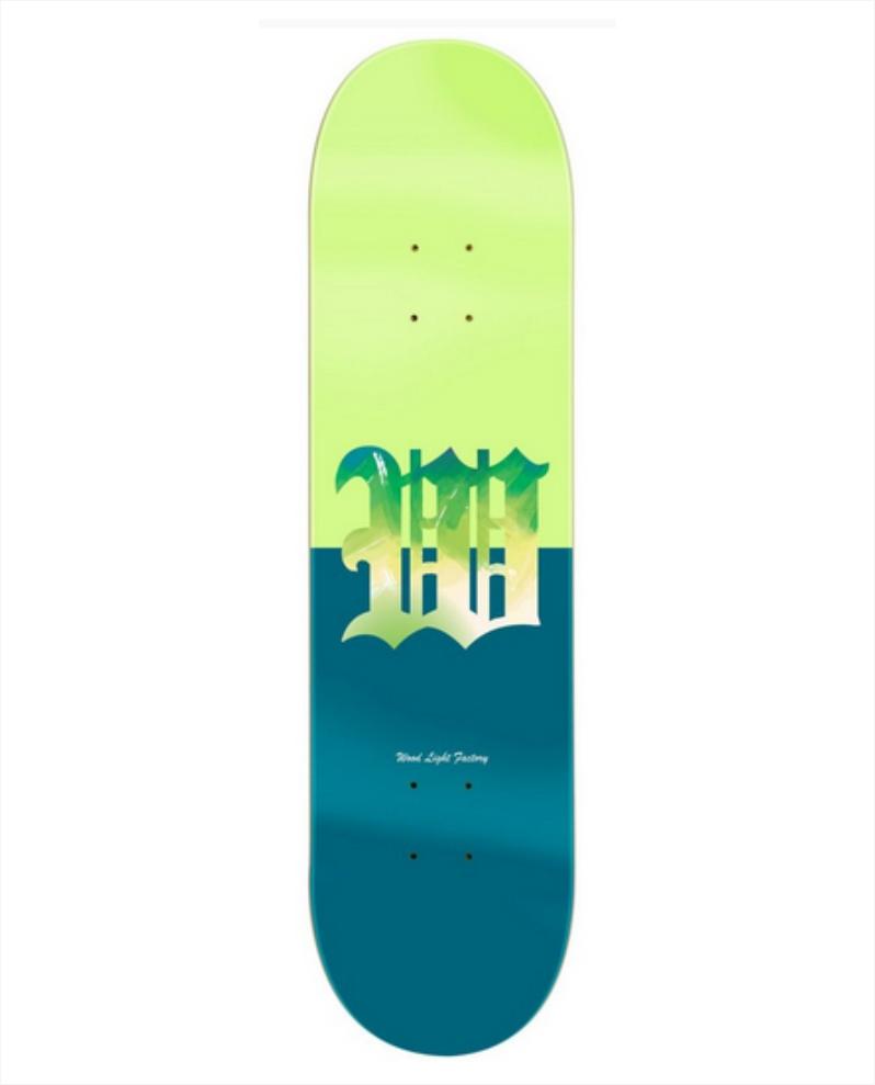 """Shape Wood Light - Maple Dáblio Verde/Azul 8.25""""  - No Comply Skate Shop"""