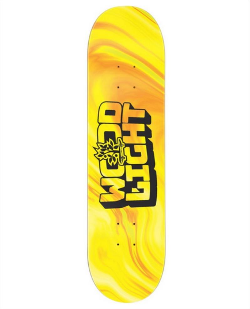 "Shape Wood Light - Maple Liquid Yellow 8.0""  - No Comply Skate Shop"