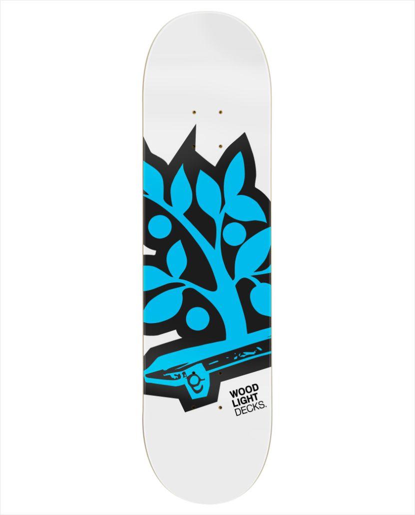 Shape Wood Light - Maple Logotipia Blue  - No Comply Skate Shop