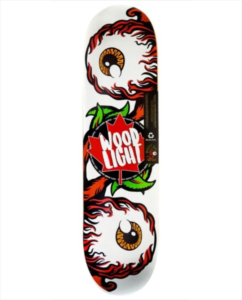 "Shape Wood Light - Maple Stick In The Eye 8.0"" - No Comply Skate Shop"