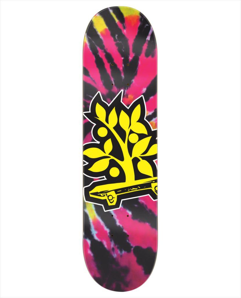 """Shape Wood Light - Wood Eight Tie Dye III 8.0""""  - No Comply Skate Shop"""