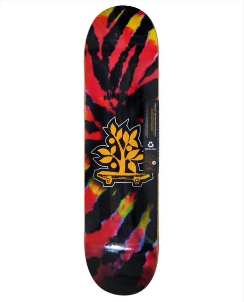 "Shape Wood Light - Wood Eight Tie Dye Rosa 8.0""  - No Comply Skate Shop"