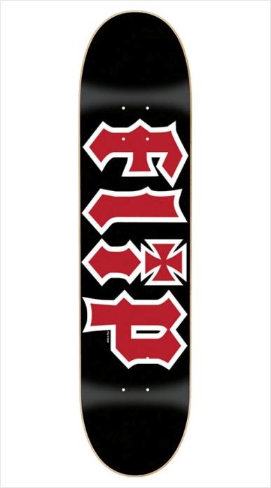 """Shape Flip Team HKD Black 7.75""""  - No Comply Skate Shop"""