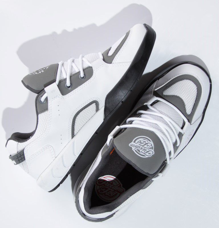 Tênis Freedom Fog - Destroyer II Branco/Grafite  - No Comply Skate Shop