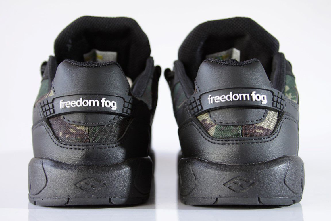 Tênis Freedom Fog - Destroyer II Preto/Camuflado  - No Comply Skate Shop