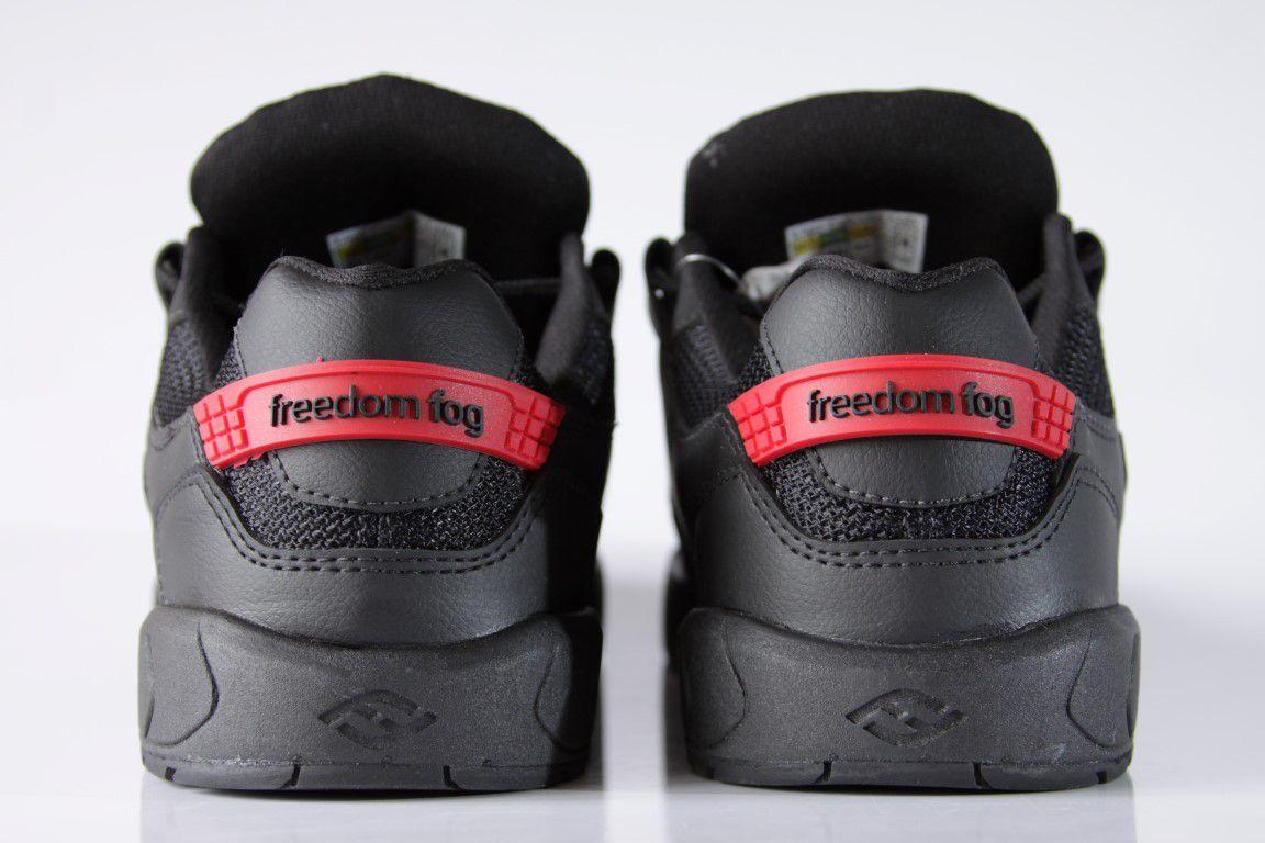 Tênis Freedom Fog - Destroyer II Preto/Vermelho  - No Comply Skate Shop