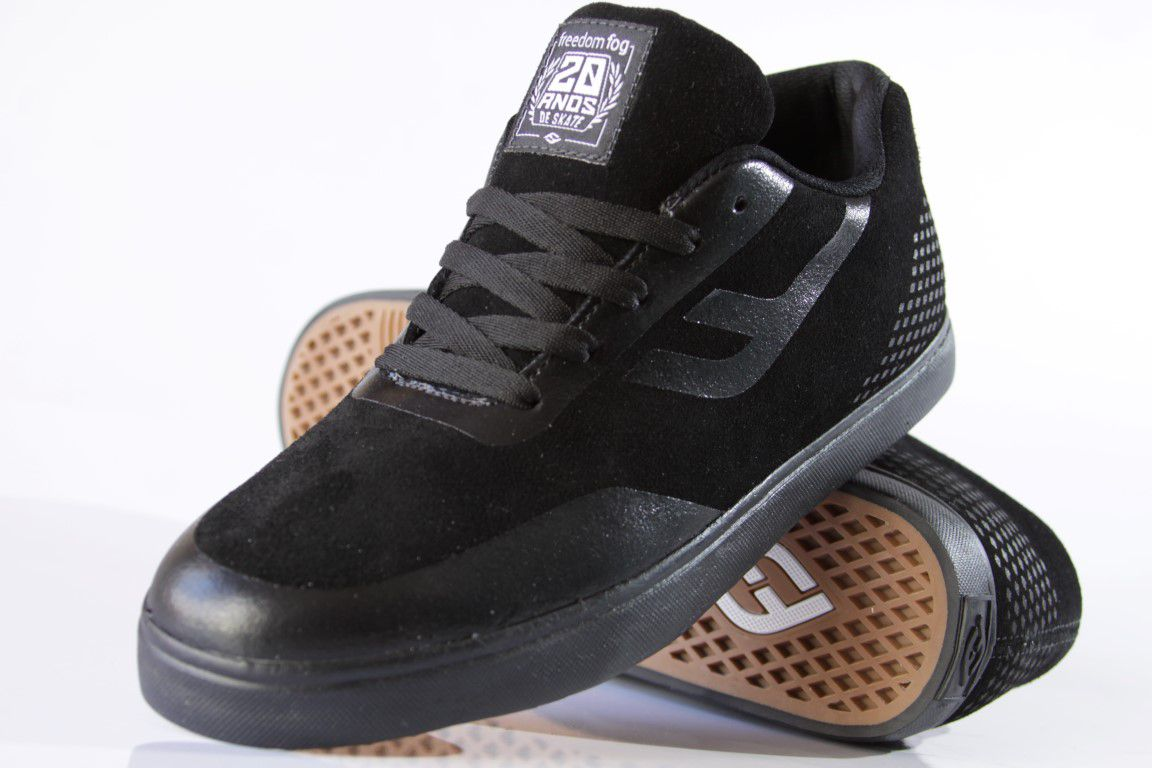 Tênis Freedom Fog - Jet Black  - No Comply Skate Shop