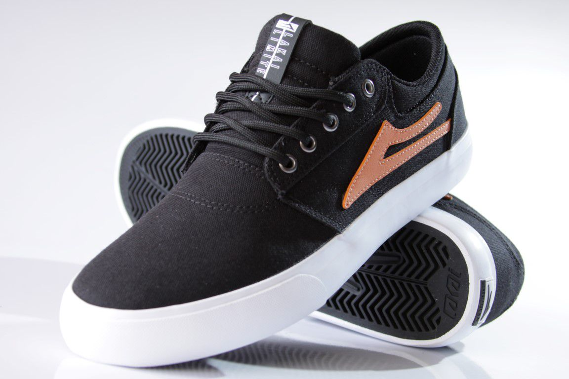 Tênis Lakai - Griffin TX Canvas Black/Gold  - No Comply Skate Shop