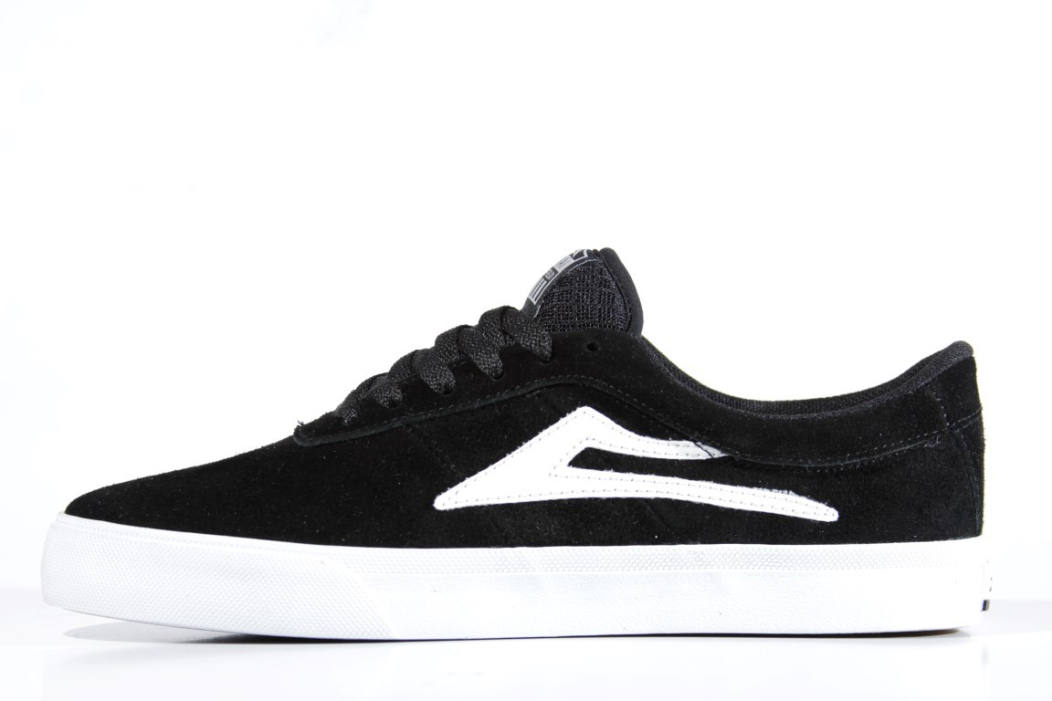 Tênis Lakai - Sheffield SD Black White Suede  - No Comply Skate Shop