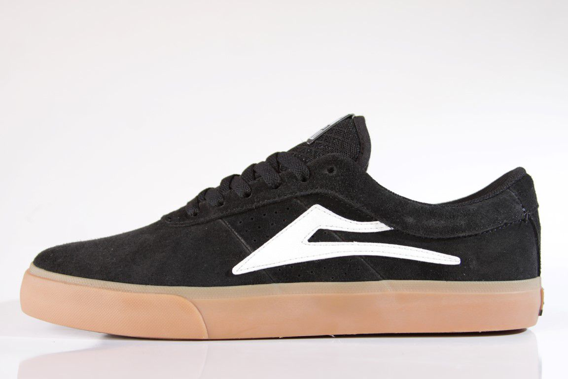 Tênis Lakai - Sheffield SD Suede Black/Gum  - No Comply Skate Shop