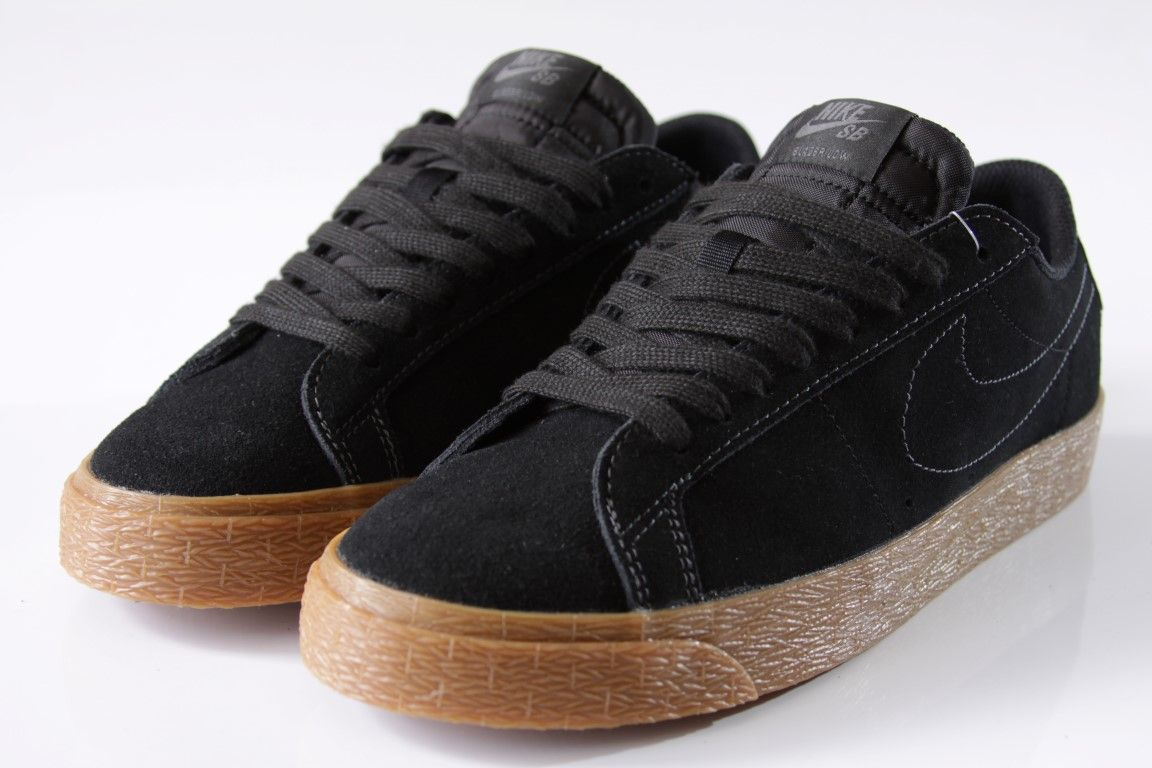 Tênis Nike SB - Blazer Zoom Low Black/Black-Anthracite - No Comply Skate Shop