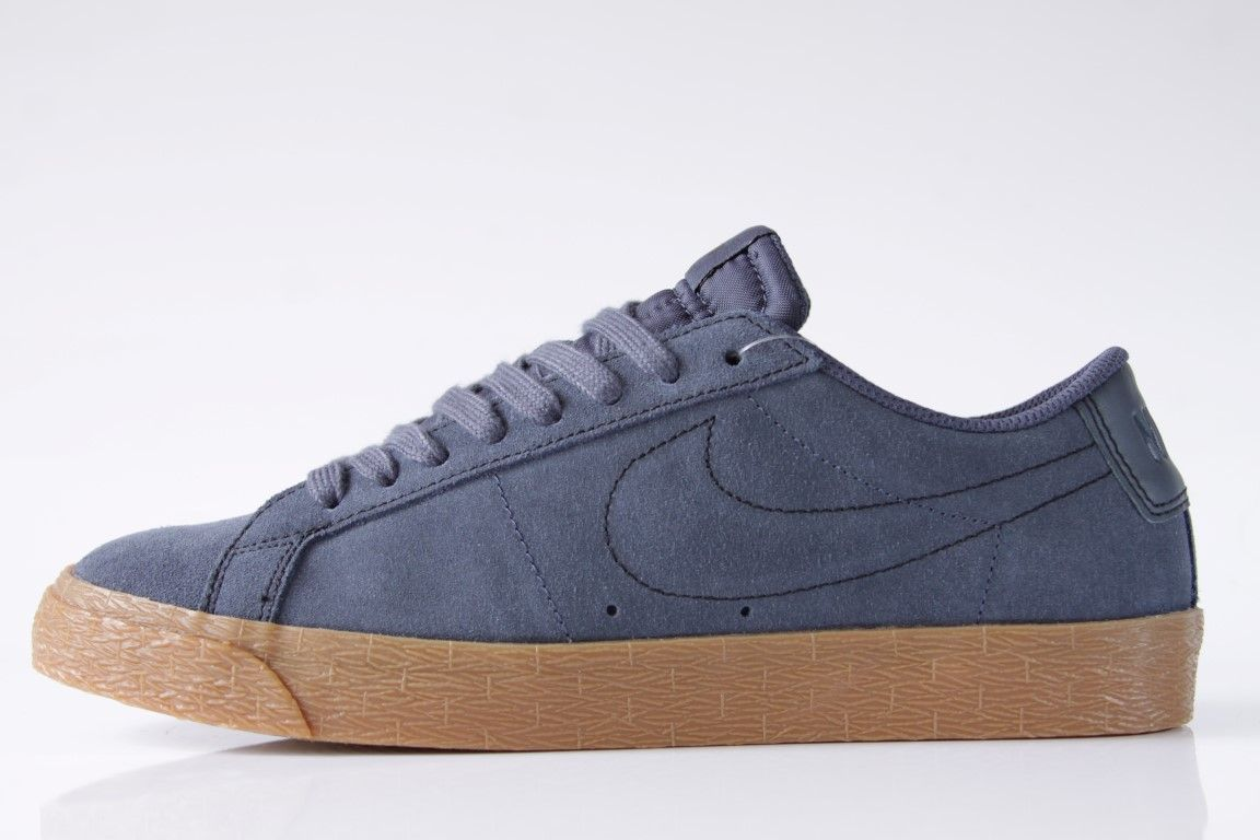 Tênis Nike SB - Blazer Zoom Low Thunder Blue/Gum  - No Comply Skate Shop