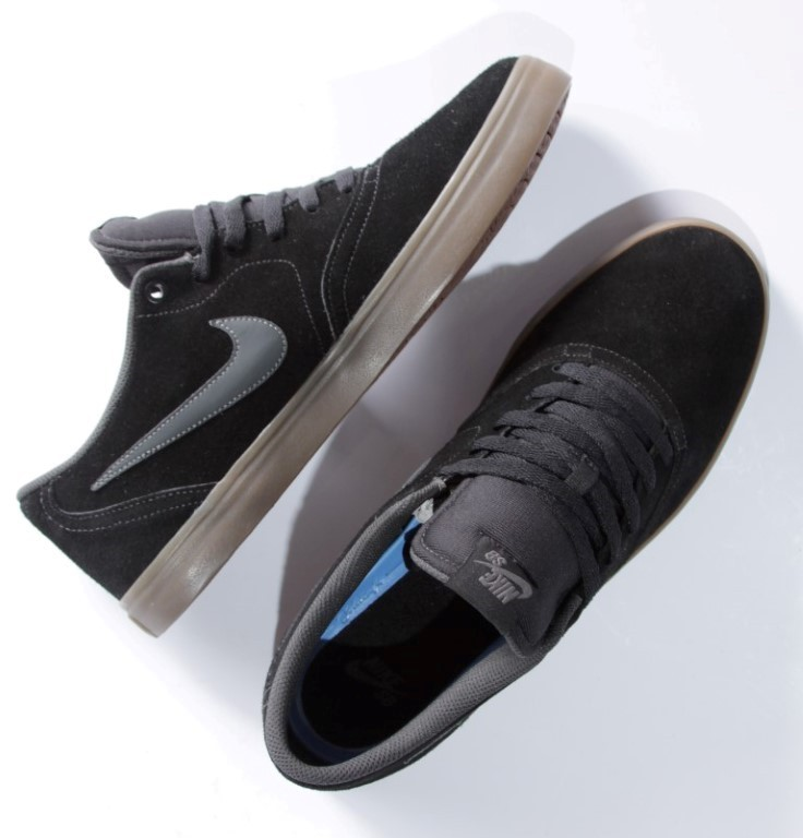 Tênis Nike SB - Check Solar Black/Anthracite-Gum  - No Comply Skate Shop