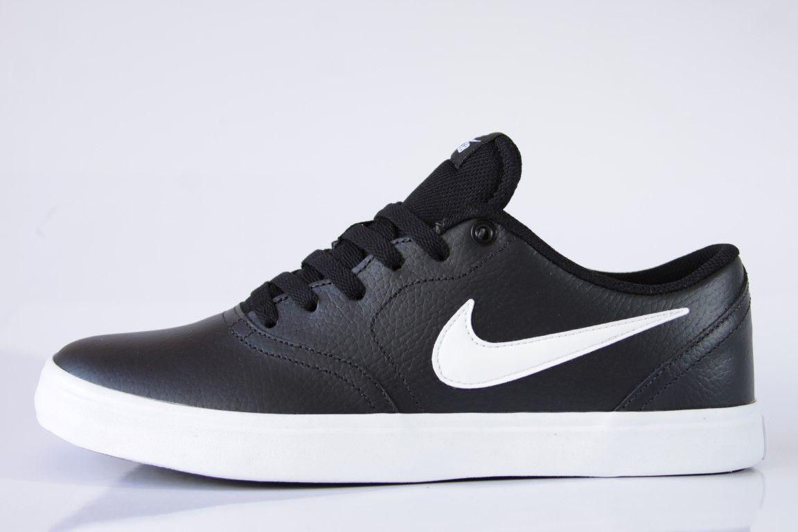 Tênis Nike SB - Check Solar Black/White  - No Comply Skate Shop