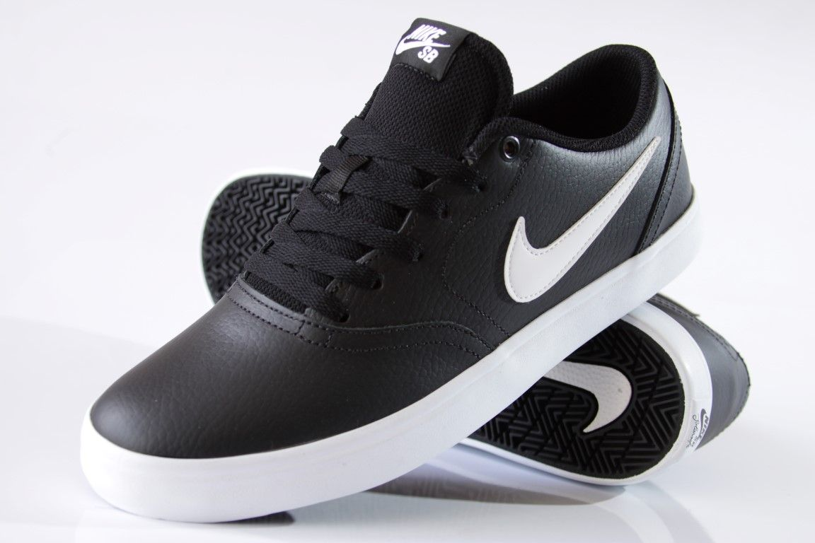 26f8f66f91 ... Tênis Nike SB - Check Solar Black White - No Comply Skate Shop ...