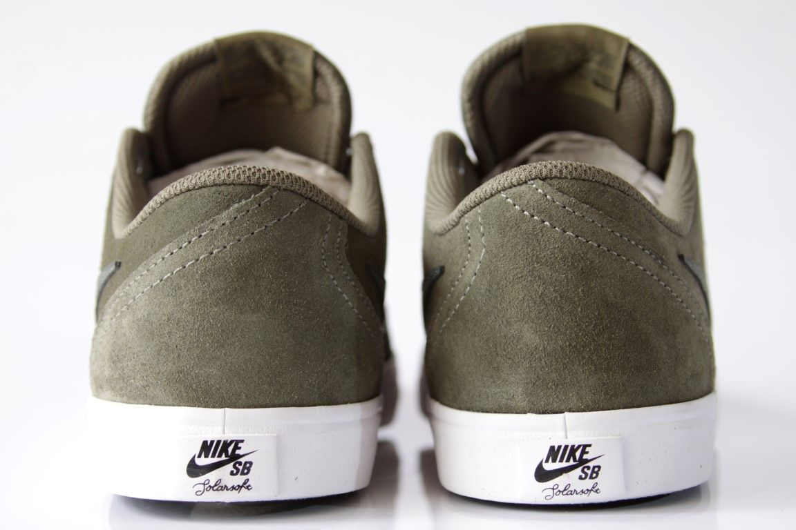 Tênis Nike SB - Check Solar Medium Olive/Sequoia  - No Comply Skate Shop