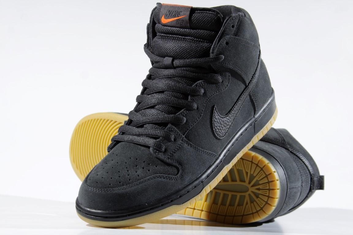 Tênis Nike SB - Dunk High Pro Iso DK Smoke Grey/Black  - No Comply Skate Shop