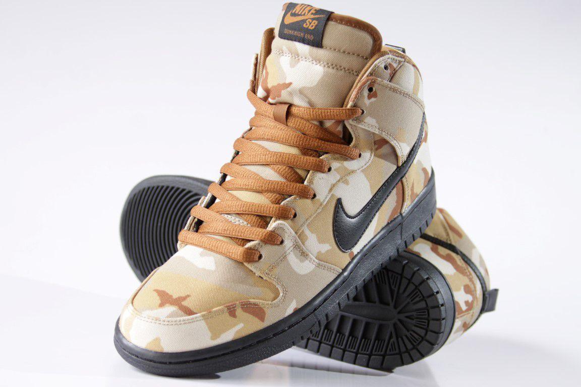 Tênis Nike SB - Dunk High Pro Parachute Beige/Black  - No Comply Skate Shop
