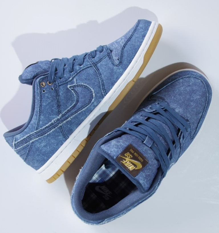 Tênis Nike SB - Dunk Low TRD QS Utility Blue X Notorious Big  - No Comply Skate Shop