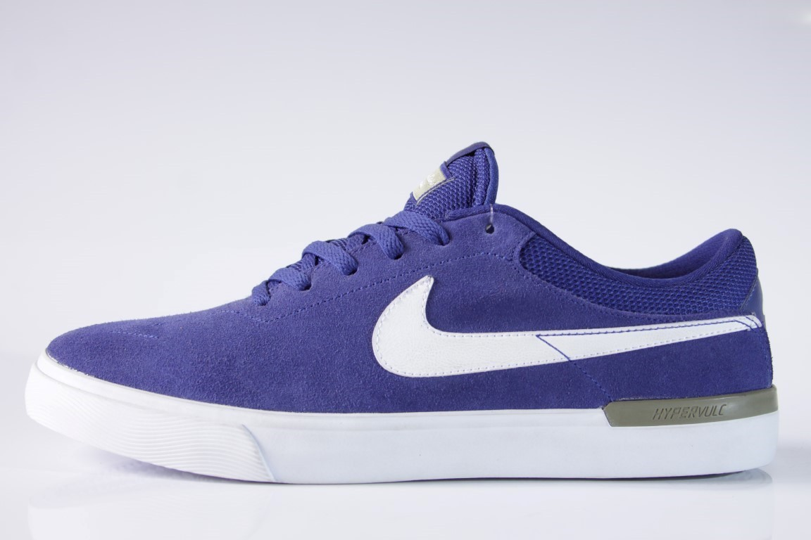 Tênis Nike SB - Eric Koston Hypervulc Deep Royal Blue/White  - No Comply Skate Shop