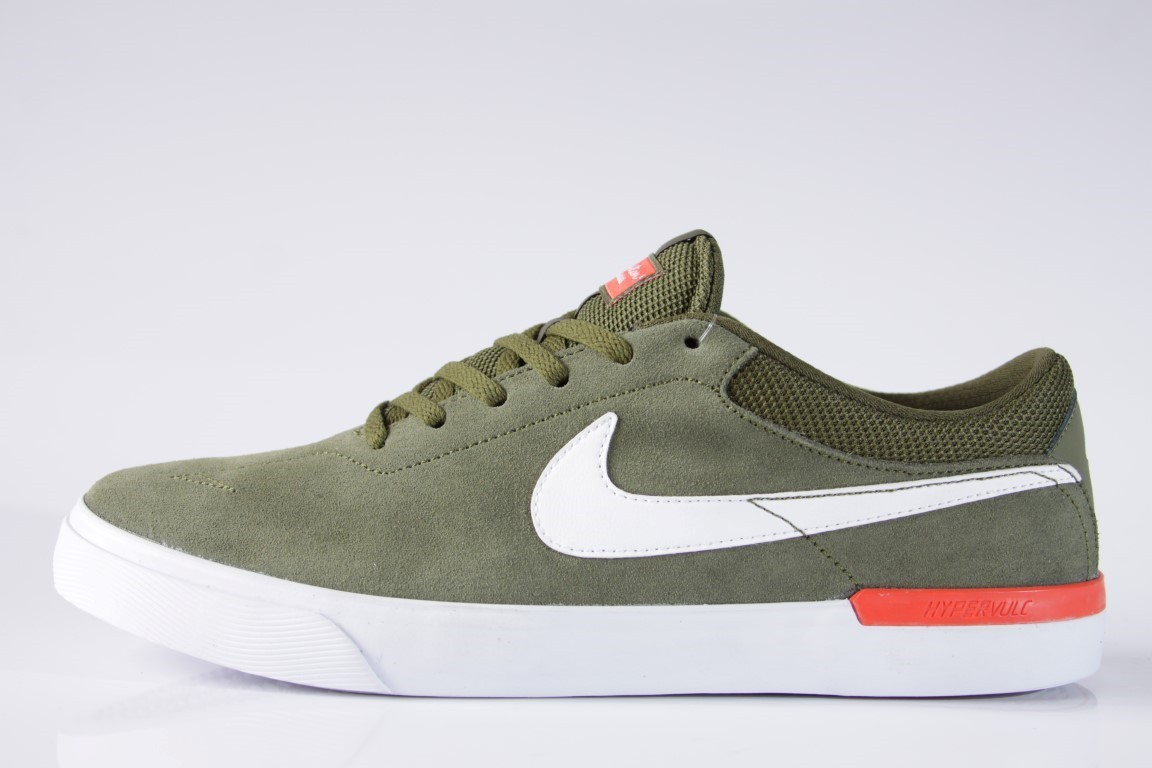 Tênis Nike SB - Eric Koston Hypervulc Legion Green/White-Max Orange - No Comply Skate Shop
