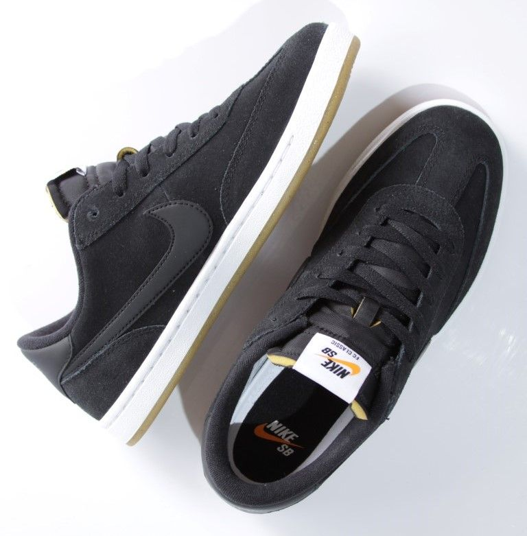 Tênis Nike SB - FC Classic Black/Black-White  - No Comply Skate Shop