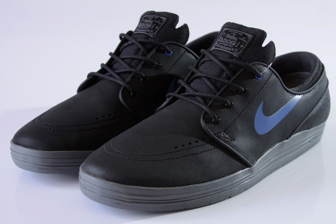 Tênis Nike SB - Lunar Stefan Janoski Black/Game Royal Cool Grey  - No Comply Skate Shop