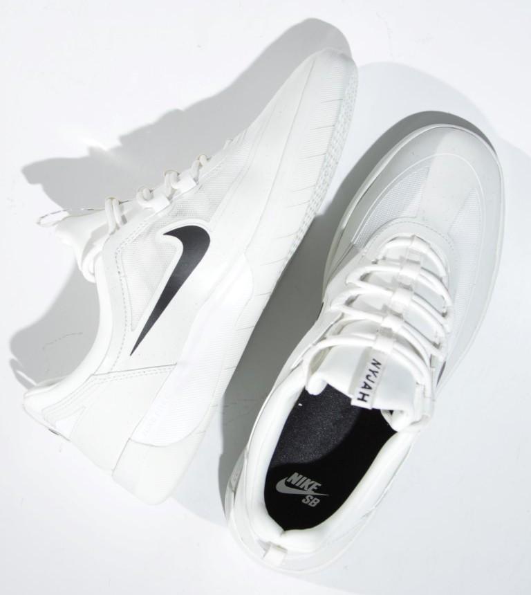 Tênis Nike SB - Nyjah Free 2.0 Summit White/Black  - No Comply Skate Shop