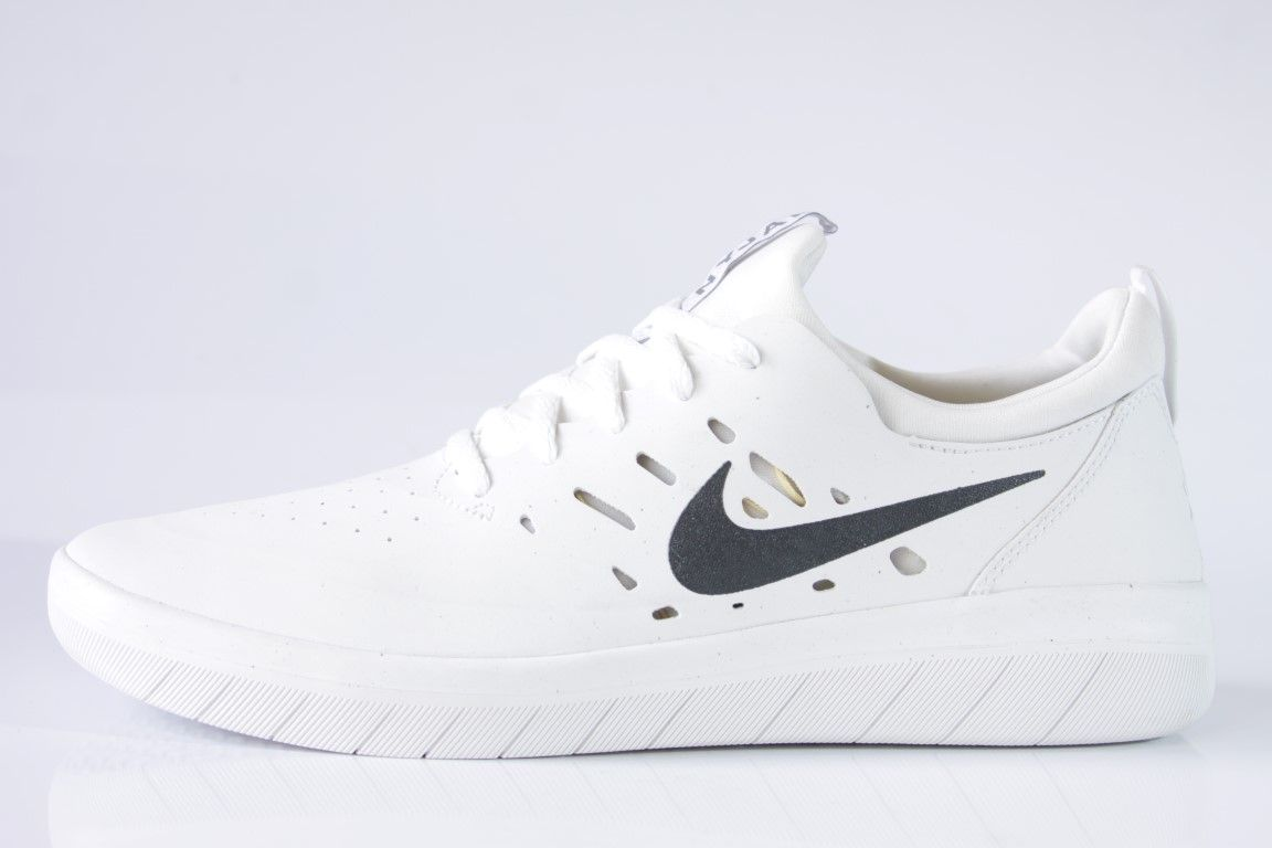 Tênis Nike SB - Nyjah Free Summit White/Anthracite  - No Comply Skate Shop
