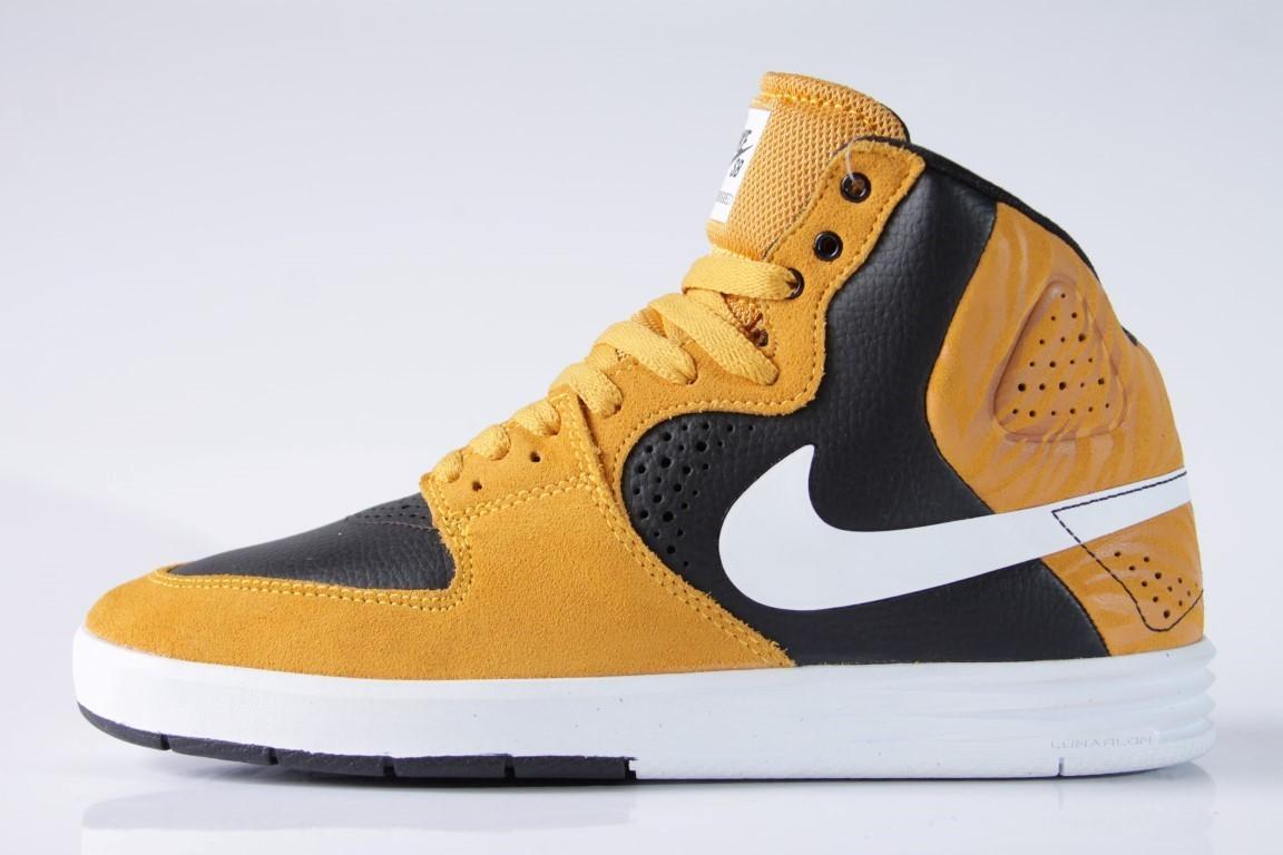 Tênis Nike SB - Paul Rodriguez 7 High Laser Orange/White-Black  - No Comply Skate Shop
